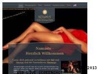 Ranking Webseite kosmamassagen.de