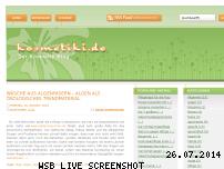 Ranking Webseite kosmetiki.de