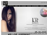 Informationen zur Webseite kr-models.de