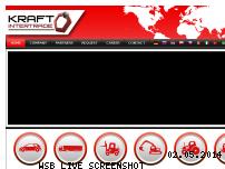 Ranking Webseite kraft-intertrade.com