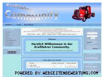 Ranking Webseite kraftfahrer-community.de