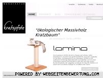 Ranking Webseite kratzpfote-kratzbaeume.de