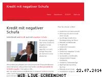Informationen zur Webseite kredit-mit-negativer-schufa.com