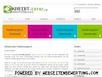 Informationen zur Webseite kredit-time.de