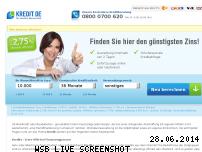 Informationen zur Webseite kredit.de