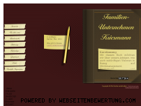 Ranking Webseite kriesmann.eu