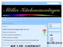 Ranking Webseite kuechenmontagen-moeller.de