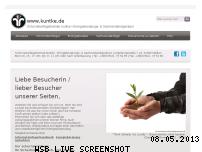 Ranking Webseite kuntke.de