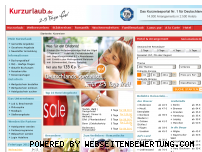 Ranking Webseite kurzurlaub.de