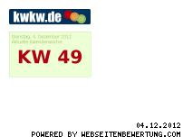 Ranking Webseite kwkw.de