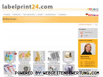 Informationen zur Webseite labelprint24.com