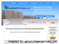 Informationen zur Webseite lageroptimal.com