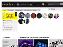Ranking Webseite lampe.de