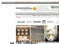 Ranking Webseite lampenonline.de