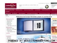 Ranking Webseite lampenwelt.de