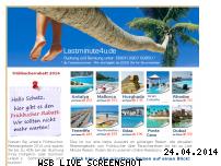 Informationen zur Webseite lastminute4u.de