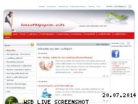 Ranking Webseite lauftipps.ch