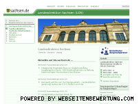 Ranking Webseite lds.sachsen.de
