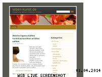 Ranking Webseite leben-kunst.de