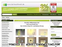 Ranking Webseite led-leuchtwelt.de