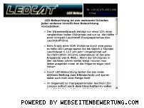 Ranking Webseite ledcat.net