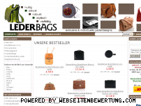 Informationen zur Webseite lederbags.de