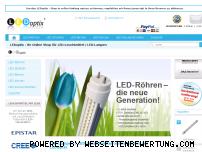 Ranking Webseite ledoptix.de