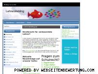 Ranking Webseite lehrersliebling.de