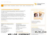 Ranking Webseite leitlinienprogramm-onkologie.de