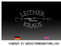 Ranking Webseite leitner-kraus.de