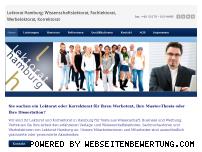 Ranking Webseite lektorat-hamburg.com