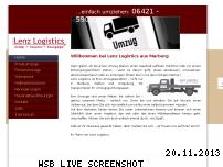 Ranking Webseite lenz-logistics.de