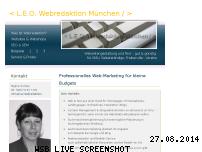 Ranking Webseite leo-webredaktion-muenchen.de