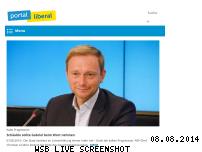 Informationen zur Webseite liberale.de