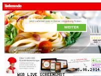 Ranking Webseite lieferando.de