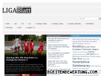 Informationen zur Webseite ligablatt.de