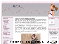 Ranking Webseite lilarosa.de