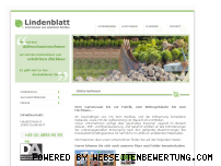 Ranking Webseite lindenblatt-abbruch.de