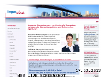 Informationen zur Webseite linguaviva-uebersetzungen.de
