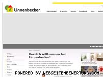 Ranking Webseite linnenbecker.de