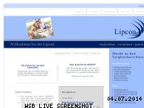 Ranking Webseite lipcon.de