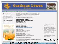 Ranking Webseite loewen-boertlingen.de