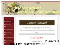 Informationen zur Webseite lores-orakel.de