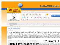 Informationen zur Webseite lottomittwoch.de