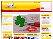 Ranking Webseite lottowelt.de