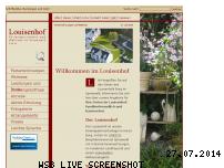 Ranking Webseite louisenhof-burg.de