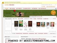 Informationen zur Webseite lovelybooks.de