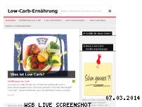 Ranking Webseite lowcarb-ernaehrung.info
