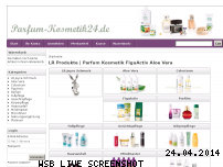 Informationen zur Webseite lr-parfuem-kosmetik.de