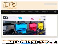 Ranking Webseite ls-digitaldruck.com